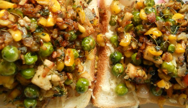 Toasted Paneer Sandwich – Veg Toast