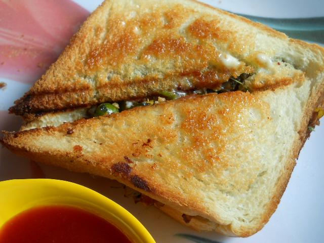 Toasted Paneer Sandwich - Veg Toasted