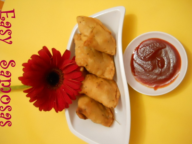 Easy Samosa - Punjabi Samosa Recipe