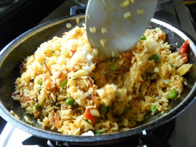 Mumbai Tawa Pulao Recipe