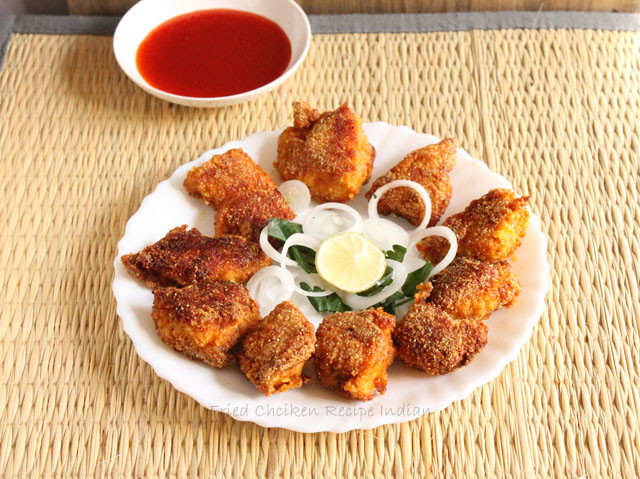 Fried Chicken Recipe Indian