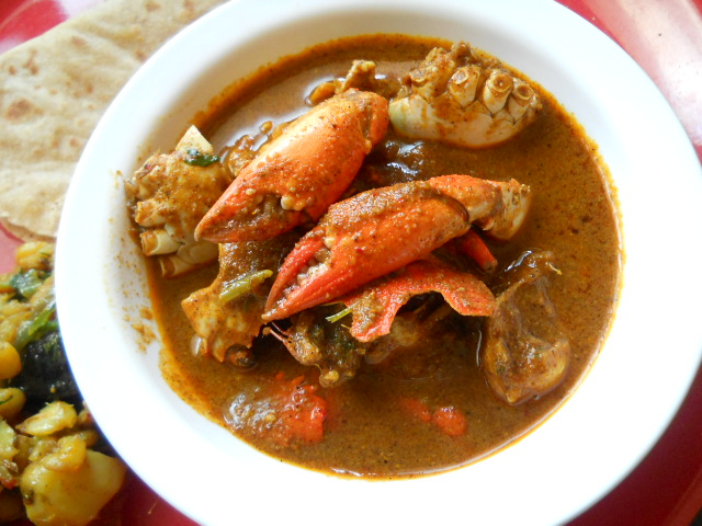 Mummy Special Crab Curry - Indian Crab Curry