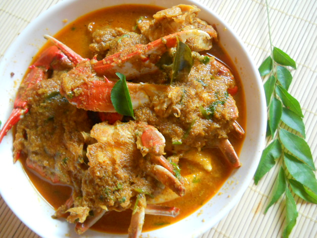 Crab Curry Recipe