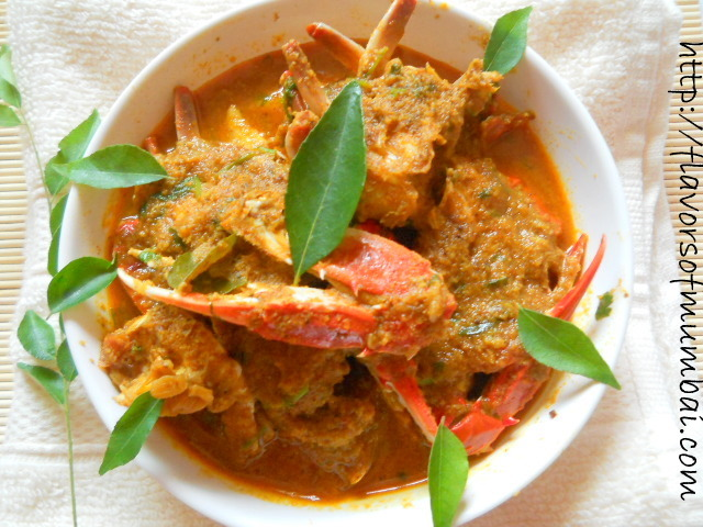 Crab Curry Recipe, Crab Curry Goan Style Recipe