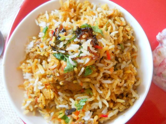 Hyderabadi Chicken Biryani Hyderabadi Chicken Biryani