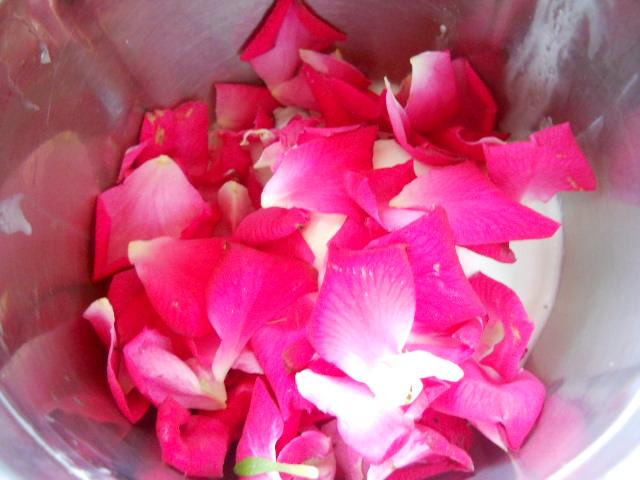 Rose Petals Ice cream. Rose Petals Ice cream Recipe, Rose Petals ...