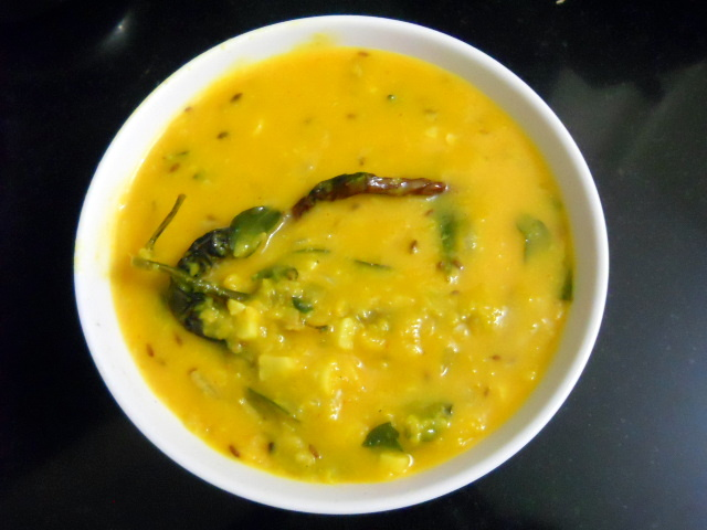 Mung Dal Tadka Recipe