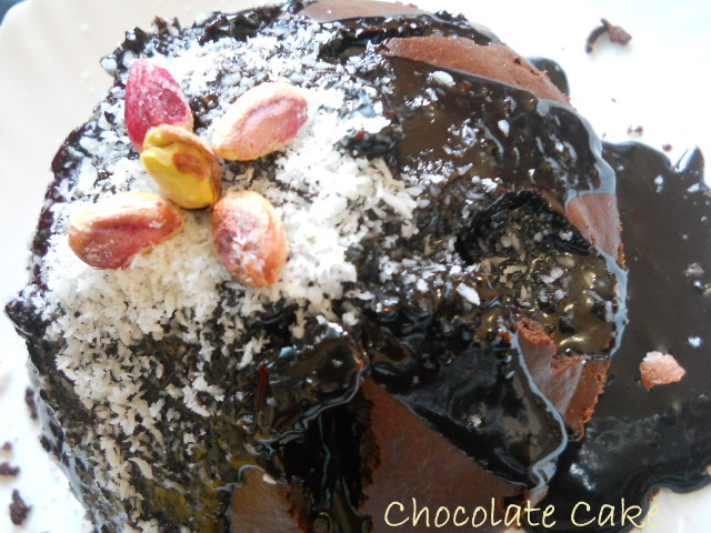 Easy Chocolate Cake:Chocolate Cake with Frosting