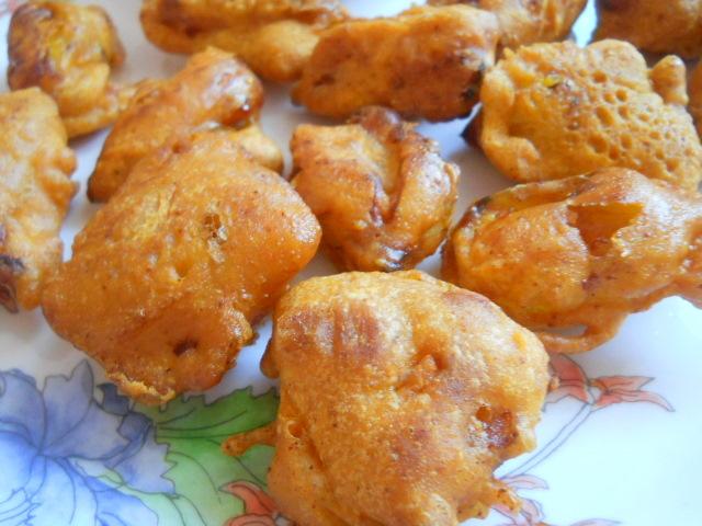 Jackfruit Pakoras