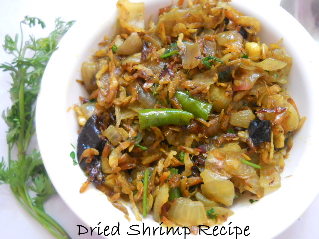 Dried Shrimp Recipe