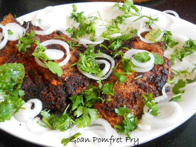 Goan Pomfret Fry
