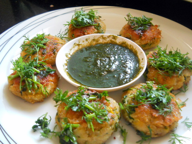Corn Tikki Patties Recipe