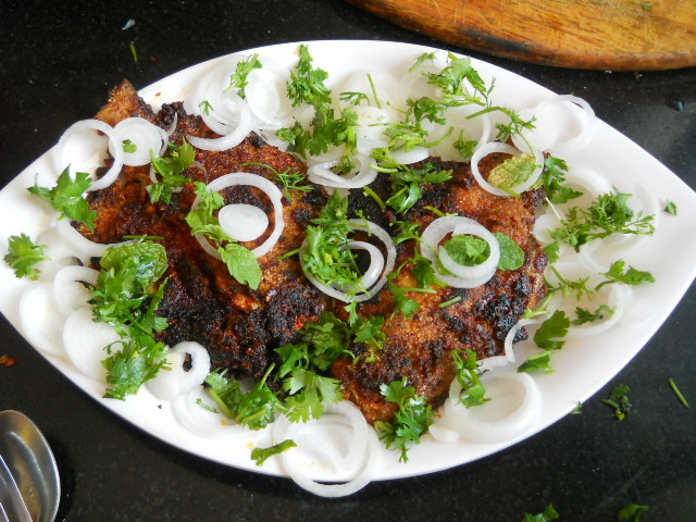 Pomfret Recheado Recipe, Fish Recheado, Goan Recipes
