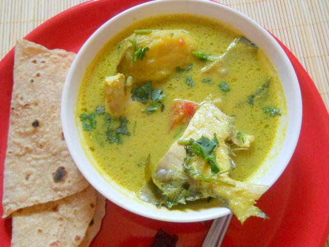 Pomfret Curry Goan Style