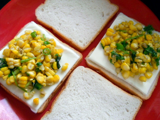 Corn Chili Toast