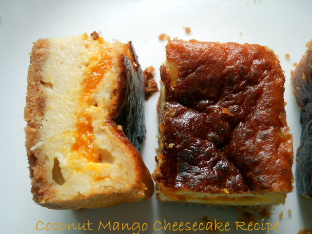 Coconut Mango Cheesecake Recipe, Mango Cheesecake Recipe