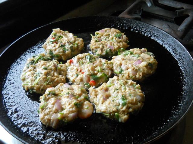 Crispy Shrimp Fritters