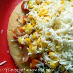 Veggie Delight Pizza with Homemade Tomato Sauce, How to make Veg Pizza