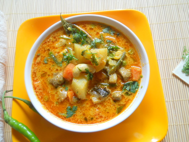 Cook Indian Vegetable Stew