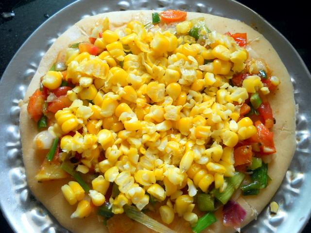 Veg Pizza Recipe Indian