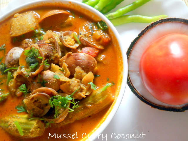 Mussel Curry Coconut – Spicy Mussel Curry