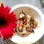 Eggless Custard Apple Icecream with Caramelized Nuts