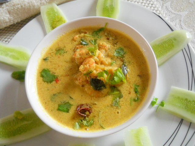 Prawns Curry in Coconut Milk