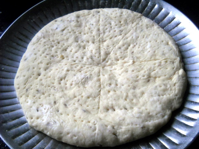 Pancetta Goat Cheese Pizza
