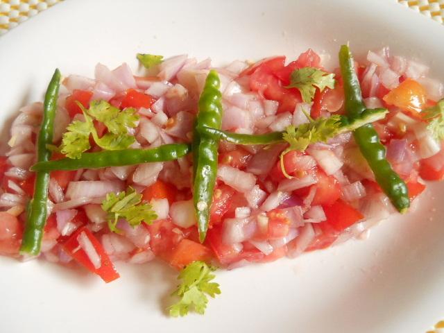 Onion Tomato Salad