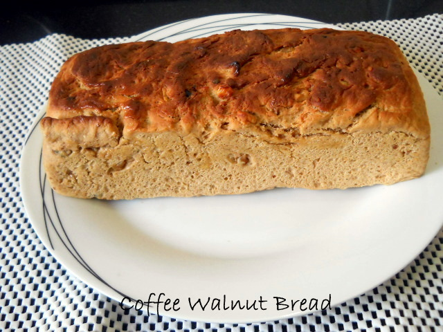 Easy Coffee Walnut Bread Recipe, How to make Coffee Walnut Bread home