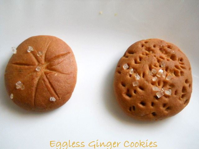 Eggless Ginger Cookies, How to make Eggless Ginger Cookies Recipe | Eggless Recipes