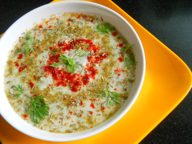 Kheere Ka Raita – Cucumber Salad with Yogurt