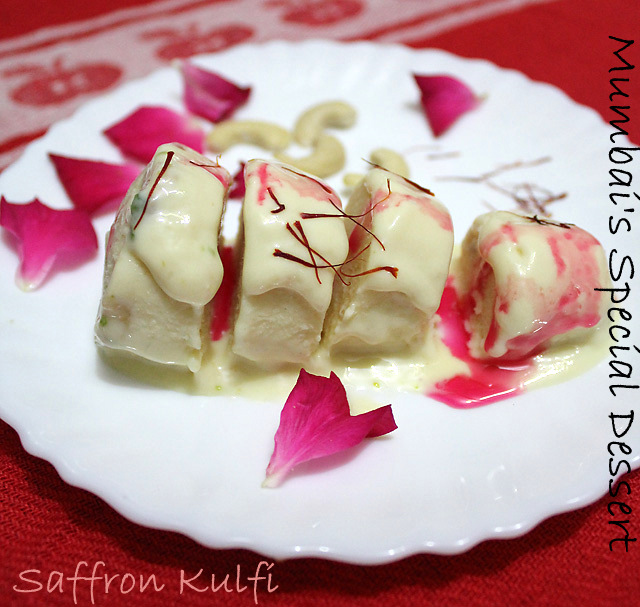 Saffron Kulfi Recipe, How to make Saffron Kulfi | Kesar Kulfi Recipe