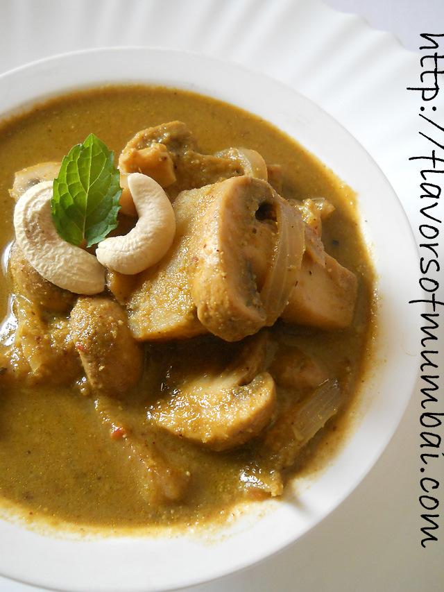 Mushroom Cafreal Recipe, How to make Mushroom Cafreal Recipe
