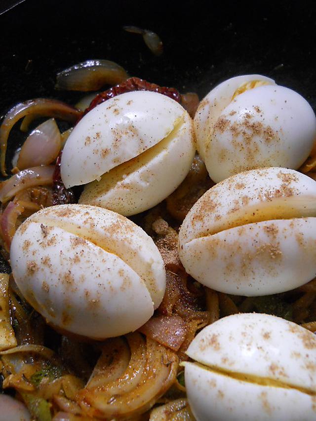 Egg Masala Dry