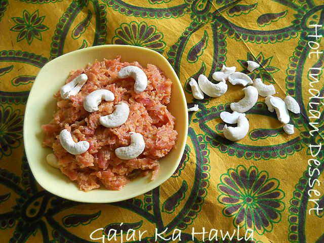Gajar Ka Halwa – Carrot Halwa Recipe