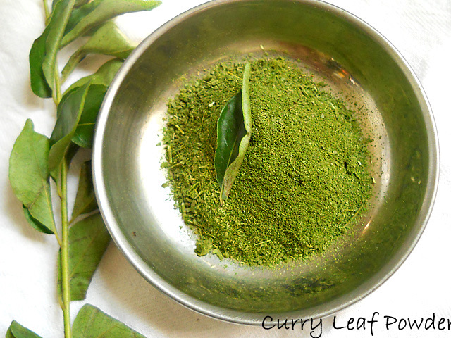 Homemade Curry Leaf Powder, How to make Curry Leaf Powder