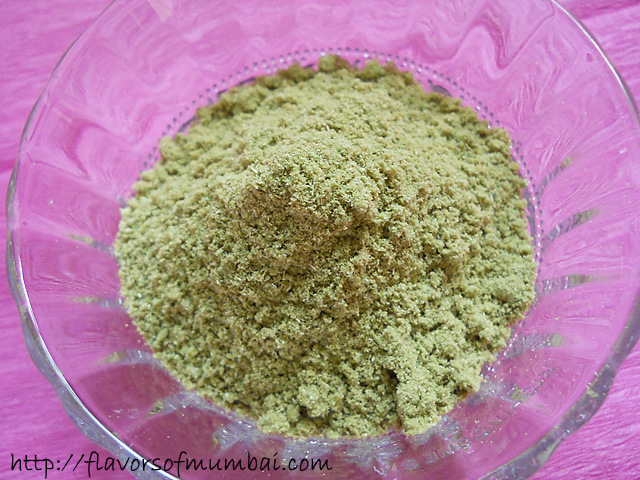 Homemade Saunf Powder, How to make Fennel Seed Powder Recipe