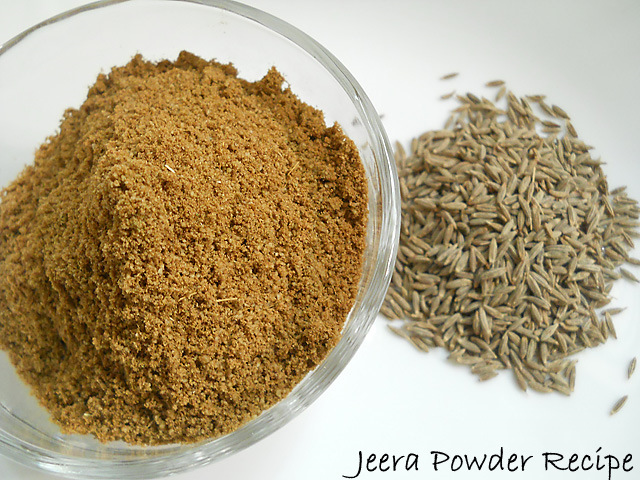 Jeera Powder Recipe – Cumin Seed Powder Recipe