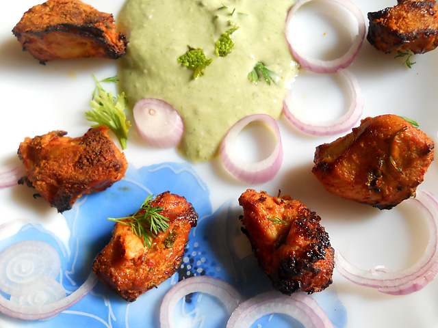 Boneless Chicken Tandoori