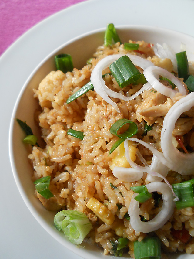 Chicken Chinese Fried Rice Indian