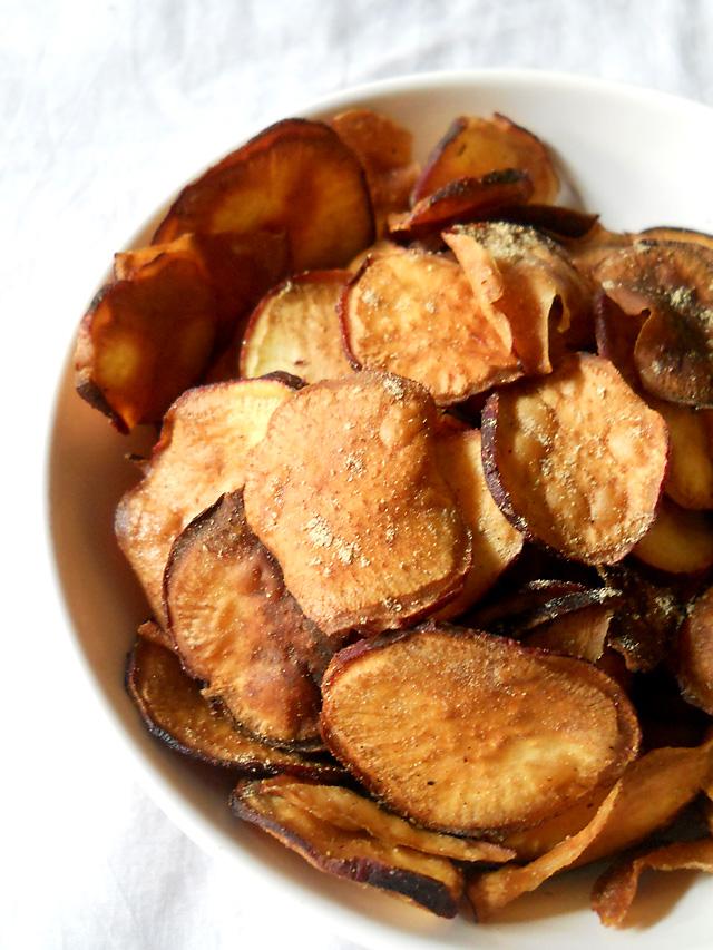 Sweet Potatoes Wafers – Sweet Potatoes Fries