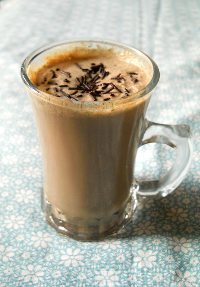 Chocolate Coffee Mint Milkshake