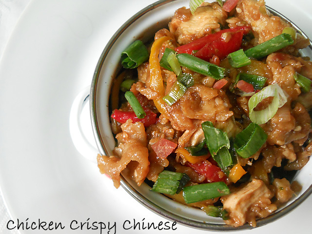 My Style Chicken Crispy Chinese