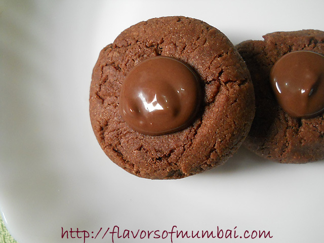 Chocolate Thumbprint Cookies, How to make Chocolate Thumbprint Cookies