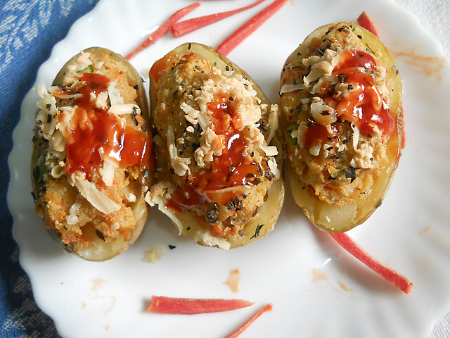 Baked Jacket Potatoes