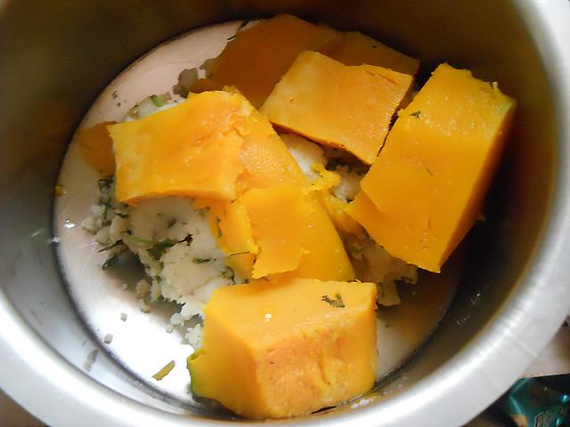 Pumpkin Sweet Potato Patties