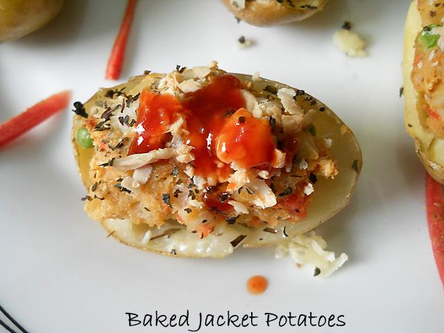 Baked Jacket Potatoes