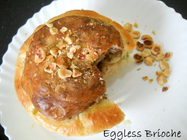 Eggless Brioche