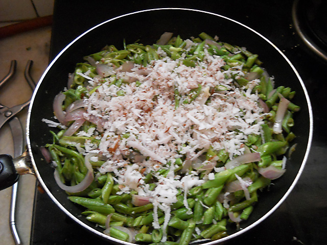 Goan French Beans